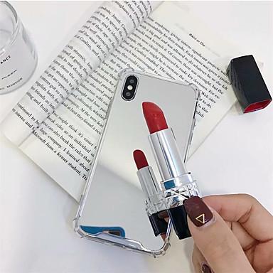 povoljno iPhone maske-kutija za Apple iphone xr / iphone xs max poklopac retrovizora čvrsta boja meko kaljeno staklo za iphone x xs 8 8plus 7 7plus 6 6plus 6s 6s plus