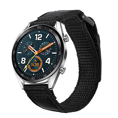 Недорогие Ремешки для часов Huawei-Ремешок для часов для Huawei Watch GT / магия чести huawei / Huawei Watch GT 2 Huawei Бизнес группа Нейлон Повязка на запястье
