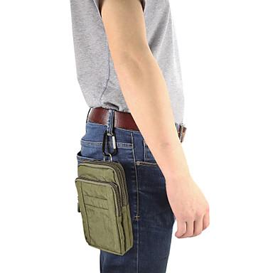 Недорогие Чехлы и кейсы для Lenovo-Кейс для Назначение Blackberry / Apple / SSamsung Galaxy Универсальный Бумажник для карт Поясные сумки Однотонный Мягкий Нейлон