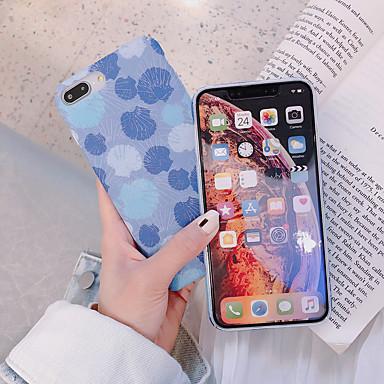 Недорогие Кейсы для iPhone X-Кейс для Назначение Apple iPhone XS / iPhone XR / iPhone XS Max С узором Кейс на заднюю панель Плитка Твердый ПК