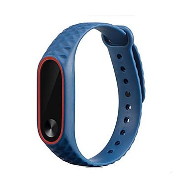저렴한 Xiaomi 밴드 시계-교체 실리콘 시계 팔찌 밴드 손목 스트랩 xiaomi mi band 2