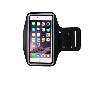 voordelige iPhone-hoesjes-hoesje Voor Apple iPhone 7 Plus / iPhone 7 Sport Armband Armband Tegel Zacht Nylon