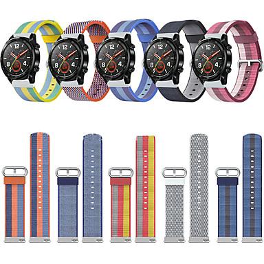 Недорогие Ремешки для часов Huawei-Ремешок для часов для Huawei Watch 2 Huawei Спортивный ремешок Материал / Нейлон Повязка на запястье