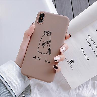 Недорогие Кейсы для iPhone 6 Plus-чехол для яблока iphone xr / iphone xs max рисунок задняя крышка мультфильм мягкое тпу для iphone 6 6 plus 6s 6splus 7 8 7plus 8plus x xs
