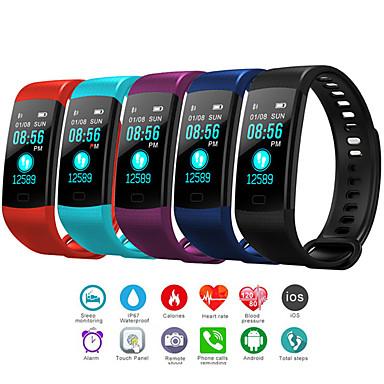 رخيصةأون ساعات الرجال-رجالي ساعة رقمية رقمي مطاط أسود / أزرق / أحمر 30 m مقاوم للماء بلوتوث Smart رقمي الخارج موضة - أسود أحمر أزرق سنة واحدة عمر البطارية