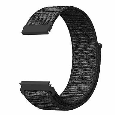 voordelige Horlogebandjes voor Samsung-Horlogeband voor Gear S3 Frontier / Gear S3 Classic / Huami Amazfit A1602 Samsung Galaxy Sportband Nylon Polsband