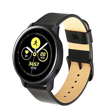 voordelige Horlogebandjes voor Samsung-echt leer polsbandje horlogebandje armband voor samsung galaxy active / galaxy horloge 42mm / gear sport / gear s2 klassiek slim horloge
