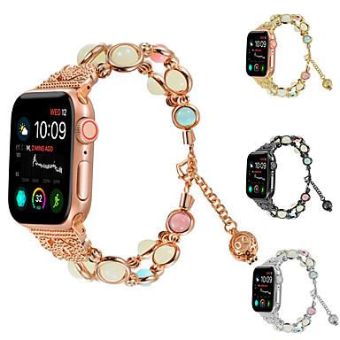 Недорогие Аксессуары для смарт-часов-Ремешок для часов для Серия Apple Watch 5/4/3/2/1 / Apple Watch Series 4 Apple Дизайн украшения Керамика Повязка на запястье