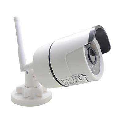 رخيصةأون كاميرات المراقبة IP-jienuo jn-ip618ar-a-wifi كاميرا ip wifi اتجاهين الصوت 720 وعاء cctv الأمن اللاسلكي للماء البسيطة hd مراقبة الأشعة تحت الحمراء رصاصة الكاميرا