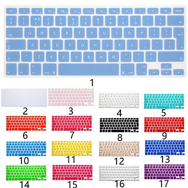 ieftine Ecrane Protecție Tabletă-versiune europeană limba engleză capacitate pentru tastatură silicon pentru macbook air 11 '' / macbook air 13 '' / macbook pro 13 '' english / macbook pro 15 '' / macbook pro 13 '' pro 15 '' cu afișa