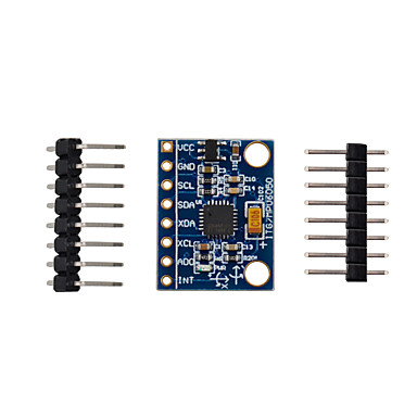 voordelige Arduino-accessoires-de nieuwste mpu 6050 6000 3v ~ 5v 6-assige gyro-accelerometer module