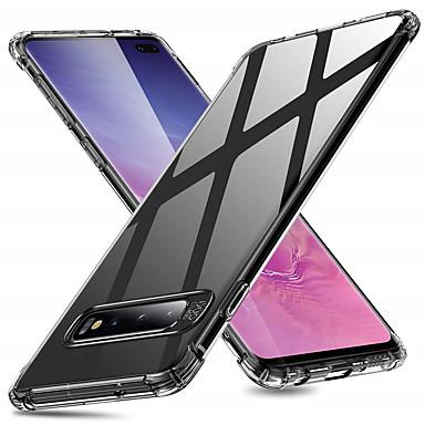 Недорогие Чехлы и кейсы для Galaxy S-Кейс для Назначение SSamsung Galaxy S9 / S9 Plus / S8 Plus Защита от удара Кейс на заднюю панель Прозрачный Мягкий ТПУ
