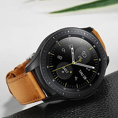 Недорогие Часы для Samsung-Ремешок для часов для Samsung Galaxy Watch 42 Samsung Galaxy Спортивный ремешок Нержавеющая сталь / Кожа Повязка на запястье