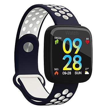 رخيصةأون ساعات الرجال-رجالي ساعة رياضية رقمي ستايل حديث رياضي سيليكون أسود 30 m مقاوم للماء بلوتوث Smart رقمي كاجوال الخارج - أسود-أخضر أسود-أحمر الأبيض / الأزرق