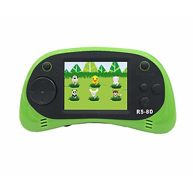 abordables Videoconsolas-rs-1 reproductor de juegos portátil para niños sistema de juegos portátil reproductor de videojuegos 2.5 lcd incorporado 152 juegos clásicos