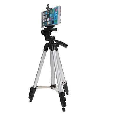 olcso háromlábú szelfi bot-mini kamera állvány tartó 3110 alumínium professzionális teleszkópos állvány monopod iphone samsung okostelefon akció kamera