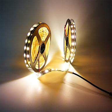 رخيصةأون شرائط ضوء مرنة LED-Zdm 32.8ft / 10 متر غير ماء 600 وحدات smd 5050 10 ملليمتر المصابيح dc12v مرنة بقيادة قطاع أضواء لقضاء عطلة / الوطن / حزب / داخلي / الديكور