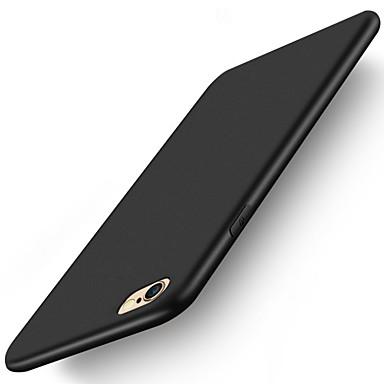Недорогие Кейсы для iPhone 6 Plus-Кейс для Назначение Apple iPhone XS / iPhone XR / iPhone XS Max Матовое Кейс на заднюю панель Однотонный Мягкий Силикон