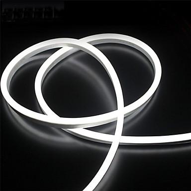 povoljno Fleksibilne LED svjetlosne trake-2m 12v silikon vodio neon konop svjetla fleksibilne vodootporne trake svjetla za DIY zatvoreni vanjski ukrasni znakovi slova