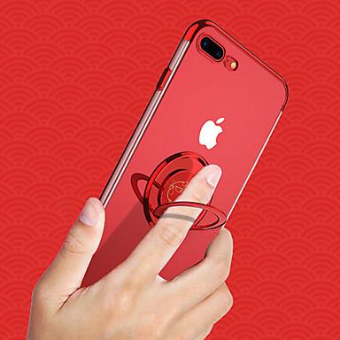 Недорогие Кейсы для iPhone 7 Plus-cisic чехол для яблока iphone xs / iphone xs max магнитный / держатель кольца / противоударный задний чехол для животных / прозрачный мягкий силикагель для iphone xs / iphone xs max