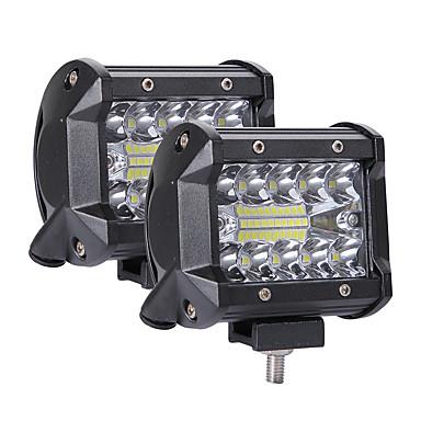 voordelige Motorverlichting-1 stks 200 w led 3 rijen 4 inch werklichtbalk stuurlamp voor universele