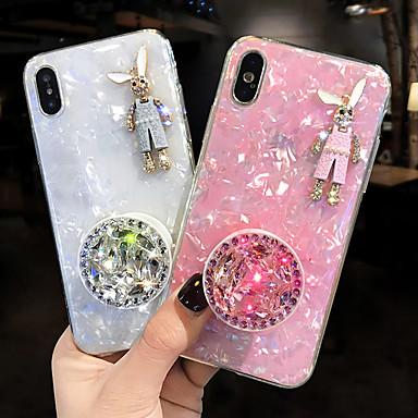 voordelige iPhone-hoesjes-hoesje Voor Apple iPhone XS / iPhone XR / iPhone XS Max Schokbestendig Achterkant dier Zacht Siliconen