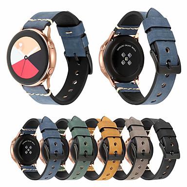 voordelige Horlogebandjes voor Ticwatch-Horlogeband voor Ticwatch 2 / Ticwatch E TicWatch Sportband / Klassieke gesp Echt leer Polsband