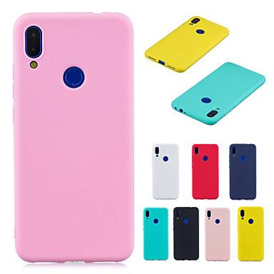 voordelige Huawei Mate hoesjes / covers-hoesje voor huawei honor 8x huawei honor 8a telefoonhoesje tpu materiaal candy serie effen telefoonhoesje