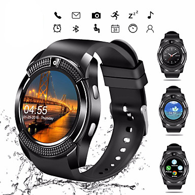 cheap Smart Electronics-V8S Smart Watch BT Fitness Tracker Support Notify/ SIM-card/ Heart Rate Monitor Sports Smartwatch Compatible Samsung/ Android/ Iphone