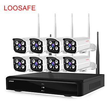رخيصةأون كاميرات المراقبة IP-loosafe ls-a3-720p 1 النائب كاميرا ip دعم داخلي