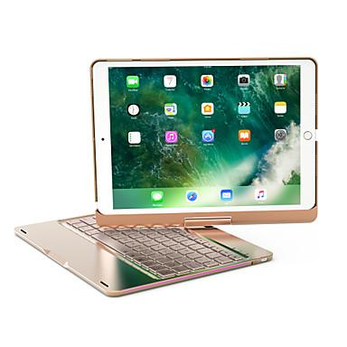 olcso iPad tokok-bluetooth mechanikus billentyűzet / irodai billentyűzet újratölthető / fedő / vékony az ios bluetooth3.0 számára