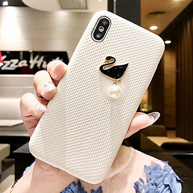 Недорогие Кейсы для iPhone 6-Кейс для Назначение Apple iPhone 11 / iPhone 11 Pro / iPhone 11 Pro Max Своими руками Кейс на заднюю панель Животное Мягкий Кожа PU
