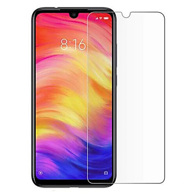 Недорогие Защитные плёнки для экранов Xiaomi-XIAOMIScreen ProtectorXiaomi Redmi Note 7 HD Защитная пленка для экрана 1 ед. Закаленное стекло