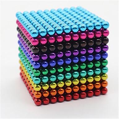 povoljno Ljubimci, Igračke i hobiji-1000 pcs 5mm Magnetne igračke Magnetske kuglice Kocke za slaganje Snažni magneti Magnetska igračka Magnetska igračka S magnetom Stres i anksioznost reljef Uredske stolne igračke Oslobađa ADD, ADHD