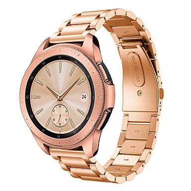 Недорогие Часы для Samsung-Ремешок для часов для Gear S2 / Gear S2 Classic / Samsung Galaxy Watch 42 Samsung Galaxy Бабочка Пряжка Нержавеющая сталь Повязка на запястье