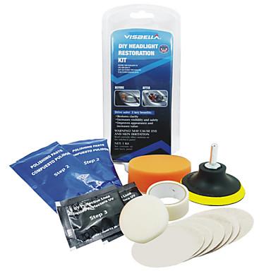 olcso Szerszámok & felszerelések-autó fényszóró lencse helyreállító készlet rendszer professzionális restauráló polírozó védő szerszámkészlet