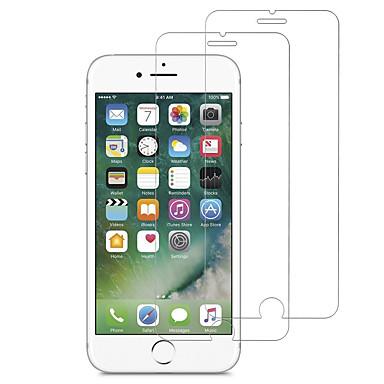 voordelige iPhone screenprotectors-screen protector voor apple iphone 5 / iphone se / 5s / iphone 6 gehard glas 2 stks voorscherm beschermer hoge definitie (hd) / 9h hardheid / 2.5d gebogen rand