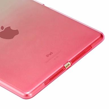 رخيصةأون أغطية أيباد-غطاء من أجل Apple ايباد ميني 5 / iPad New Air (2019) / iPad Air ضد الصدمات / شفاف غطاء خلفي لون متغاير ناعم TPU / iPad Pro 10.5 / iPad (2017)