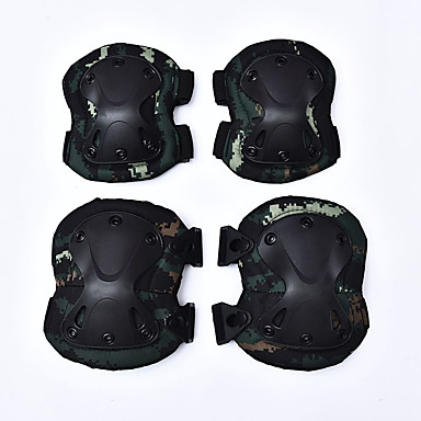 Недорогие Средства индивидуальной защиты-Мотоцикл защитный механизм для Защита локтей / Коленная подушка Все Нейлон ПВА Износостойкий / сгущение