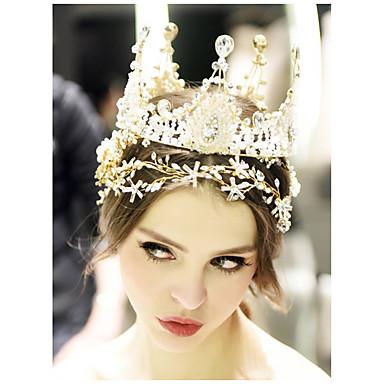 olcso Hajékszerek-Női Divat aranyos stílus Hercegnő Strassz Ötvözet Egyszínű