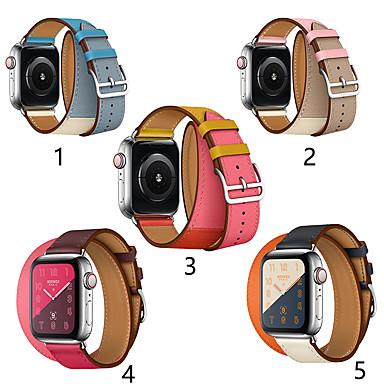 povoljno Apple Watch remeni-smartwatch bend za seriju satova jabuka 4/3/2/1 klasična kopča iwatch remen dvostruki krug