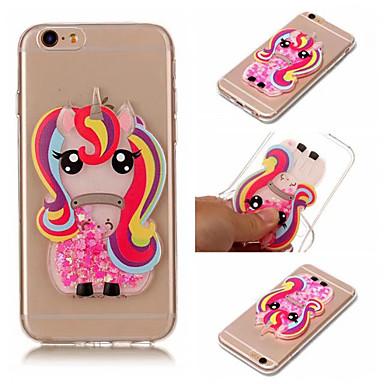 Недорогие Кейсы для iPhone X-iphone 5 / 5s / se / 6 / 6s / 6 plus / 6s plus / 7/7 plus / 8/8 plus / x / xs чехол для телефона дизайн единорога модный противоударный чехол