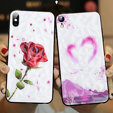 voordelige iPhone-hoesjes-hoesje voor appleiphone xs / iphone xs max schokbestendig achterklep dierlijk hard gehard glas voor iphone xs / iphone xs max