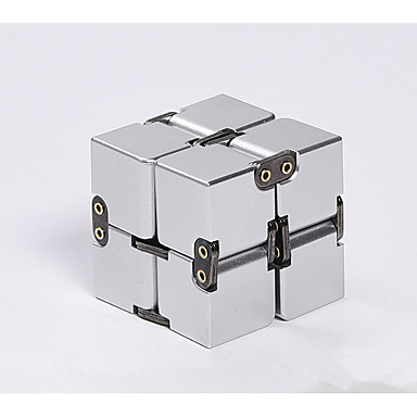 [$23 99] Infinity Cubes Stress and Anxiety Relief Office Desk Toys Places  Chrome Classic Style Pieces Teen Adults' Toy Gift