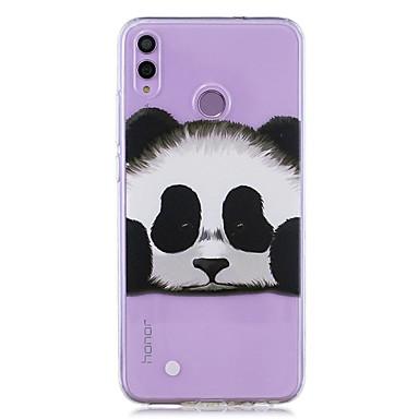voordelige Huawei Mate hoesjes / covers-case voor huawei honor 8x / huawei p smart (2019) patroon / transparante achterkant panda zachte tpu voor mate20 lite / mate10 lite / y6 (2018) / p20 lite / nova 3i / p smart / p20 pro