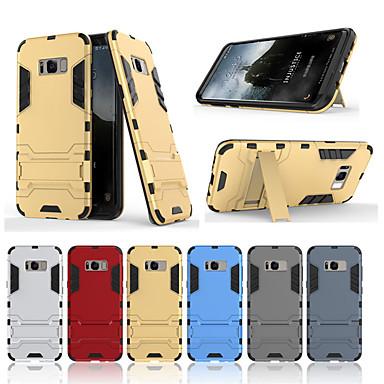 Недорогие Чехол Samsung-Кейс для Назначение SSamsung Galaxy S8 Plus / S8 Защита от удара / Защита от пыли / Защита от влаги Кейс на заднюю панель Однотонный Твердый ТПУ / ПК