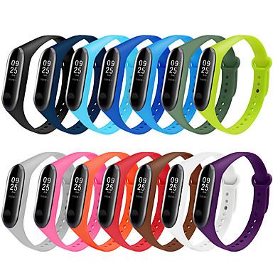 voordelige Smartwatch-accessoires-Horlogeband voor Mi Band 3 Xiaomi Sportband Silicone Polsband