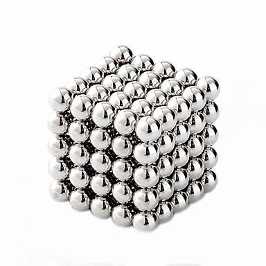 olcso különleges ajánlatok-Mágneses játékok Építőkockák Super Strong ritkaföldfémmágnes Neodímium mágnes Puzzle Cube Fém Gyermek / Felnőttek Fiú Lány Játékok Ajándék