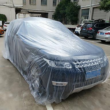 povoljno Automobilski vanjski pribor-3 veličina ldpe film otvoreni jasno jednokratnu punu automobil pokriti kiša / prašina otporna garaža univerzalna privremena