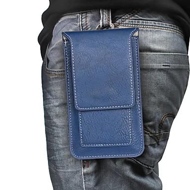 Недорогие Кейсы для iPhone-чехол для apple iphone xs max / iphone 8 plus противоударный / кошелек / визитница сумка для талии / поясная сумка из мягкой мягкой кожи pu для iphone 7/7 plus / 8/6/6 plus / xr / x / xs